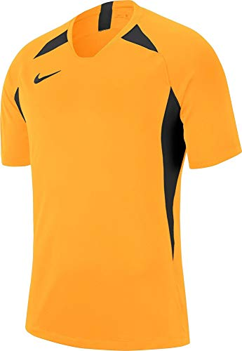 Nike Y Nk Dry Legend JSY Ss T Shirt University GoldBlackX Small