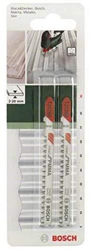 Bosch Professional 2609256C59 DIY Stichsägeblatt T 102 BF
