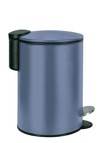 Kleine Wolke Silence - Cubo de basura (3 L), color azul