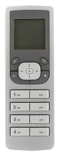 Leviton VRCPG-0SG Vizia RF   Handheld Remote Controller Programmer/Timer, Gray