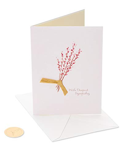 Papyrus Sympathy Card (Thinking of You)