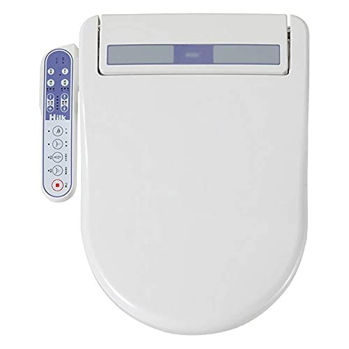 Intelligent Lavatory, Heating Smart Toilet Seat, Bidet Electronic Toilet Seat Clean Dry Seat Heating with Dual Nozzle Massage Control, Energy-Saving Technology Remote Control