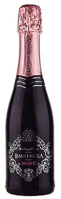 Bartenura Sparkling Rosé Moscato, Sweet Italian White Wine,1 x 375ml
