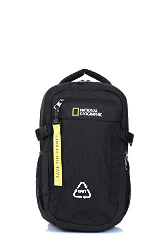 National Geographic Mochila Natural Negro