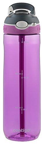Contigo Autospout Ashland Water Bottle, 24oz , Radiant Orchid