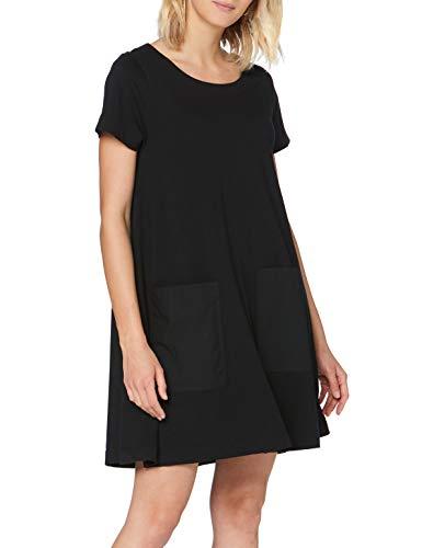 Esprit EO3 050EE1E317 Vestido, Negro, XS para Mujer