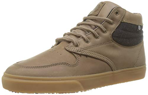 Element Men's Low-Top Trainers, Brown Walnut Pullup 3572, 8