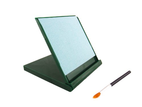 Mini Buddha Board, 5-inch x 5-inch, Green