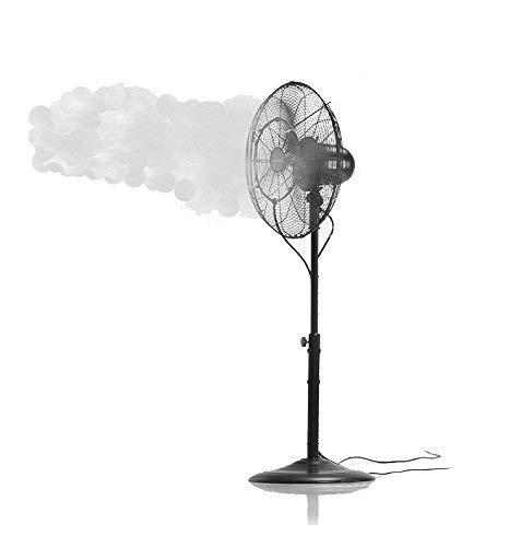 Patent Pending Fan Misting Kit for a Cool Patio Breeze...