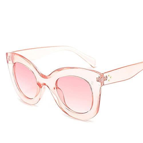 2021 círculo vintage mujeres gafas de sol gran marca marco gafas de sol moda hombres gradiente sexy gafas, e,