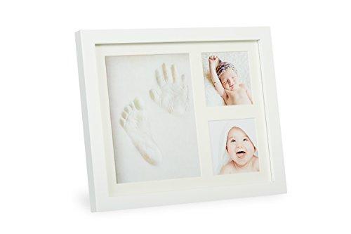 Märchenwald Baby Adruckset | Bilderrahmen mit Gips | Staedtler Gips | Erinnerung Abdruckset