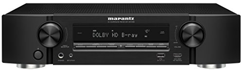 Marantz AV Audio & Video Component Receiver Black (NR1508) (Discontinued by Manufacturer)