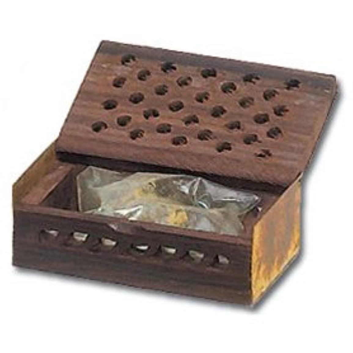 どこにでも反抗明快Golden Amber樹脂ギフトボックス- 3グラム