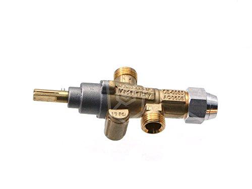 PEL PEL21S - Rubinetto per gas per Lotus CF4-8GEM, CF4-8G, TPF4-610G, CF4-GEMS, Bertos G6F6+T+A6, G7F6PW+FG1, G7F4PW+FG1, G7F4M, Olis SIE-105