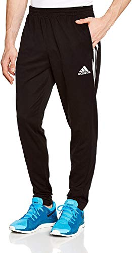 adidas Jungen Lang Sereno 14 Trainingshose, schwarz/weiß, 128, D82941