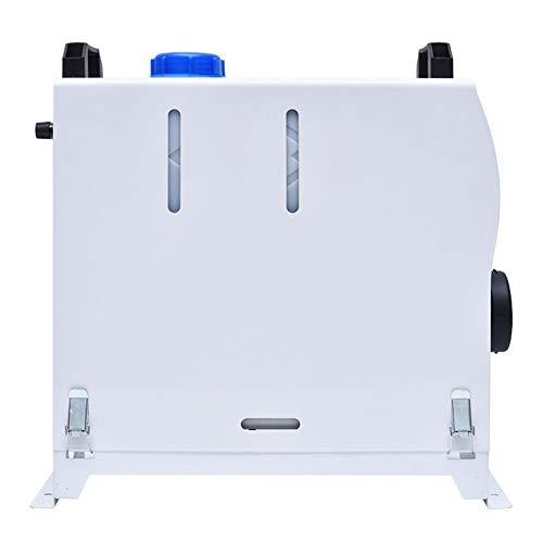 Máquina De Control Remoto LCD De Coches Aparcamiento Calentador 12 V 8KW Diesel Calefactor De Aire Acondicionado De Calefacción Del Coche 12v Webasto Calefacción Del Coche ( Color Name : White )
