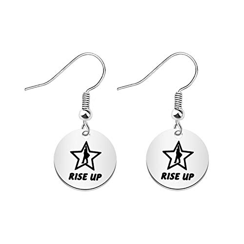 BAUNA Hamilton Broadway Musical Gift Rise Up Earring Hamilton Earring Hamilton Fan Gift Broadway Musical Gift (Rise Up Earring)