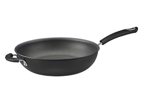Circulon - Total - 30cm Wok Pan - Durable Non Stick - Hard Anodised - Induction - Oven and Dishwasher Safe
