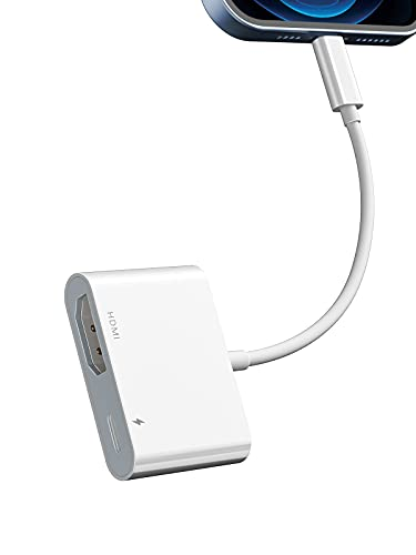 YEHUA 1080P AV Digital HDTV Adaptador,Cable HDMI para iPhone iPad