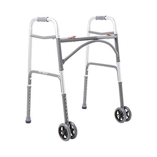McKesson Steel 32 to 39' H Bariatric Walker up to 500 lbs