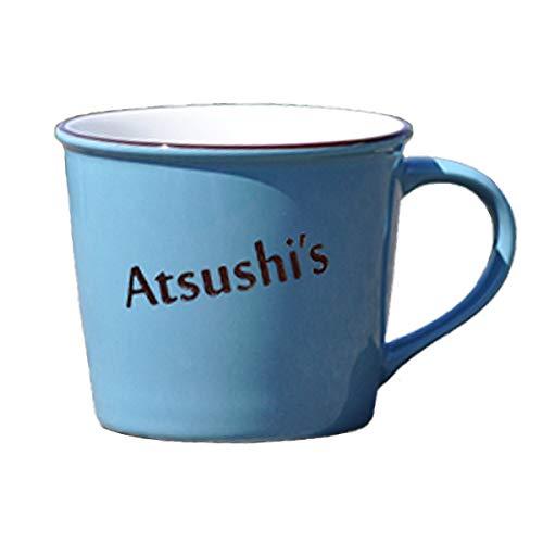 京陶窯業株式会社 名入れマグカップ ショートメッセージ入り