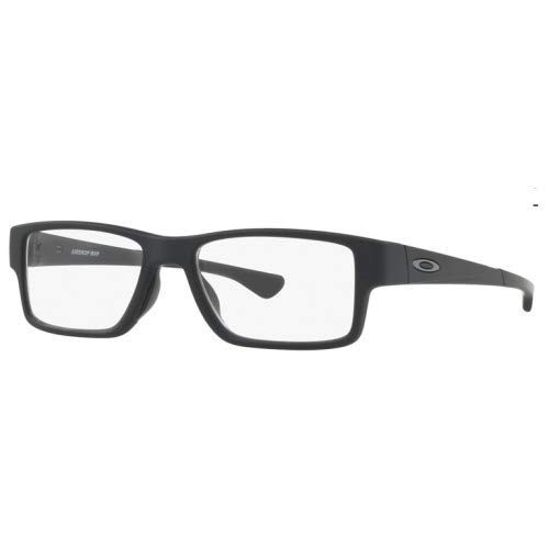 Oakley Airdrop Radiation Safety X-Ray Imaging Glasses - 0.75 mm Lead Glass (Satin Black w/Anti-Reflective Coating)