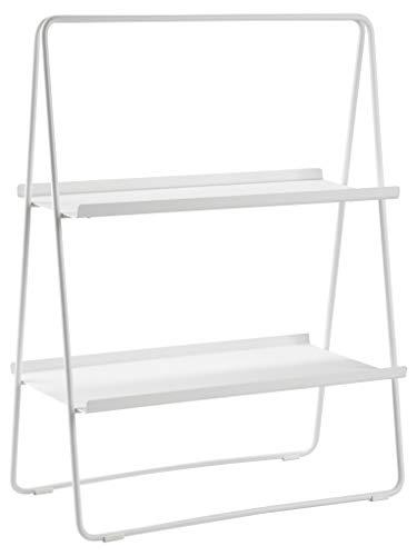 Zone Denmark A-Table Regal, Standregal aus Metall, 53 x 29 x 75 cm, Weiß