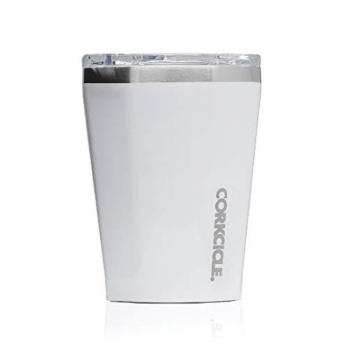 SPICEOFLIFE(スパイス)ステンレスタンブラーふた付きTUMBLERCORKCICLEホワイト300ml12oz保冷保温真空断熱2112GW