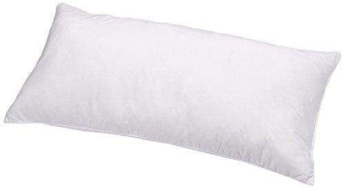 AmazonBasics Kissen mit Schnürung, Bezug: 100% Baumwolle, 40x80 cm