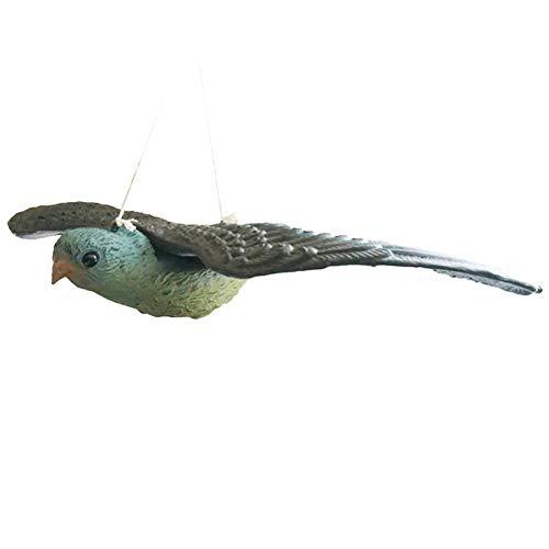 Sweety Oiseaux artificiels pour la décoration de la Maison, Ornement Animal réaliste avec des Ailes Ornement d'oiseaux Volants pour la décoration de Jardin