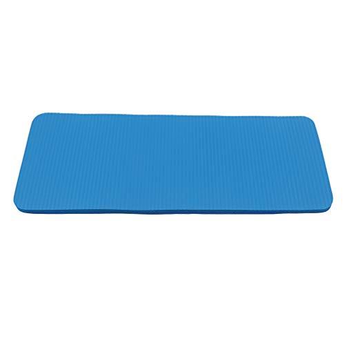 Weryffe – Esterilla de entrenamiento para yoga, pilates, fitness, yoga, rodilleras, rodilleras, codos, color azul, adecuado para mujeres y hombres, color azul, tamaño 60 x 25 x 1,5 cm