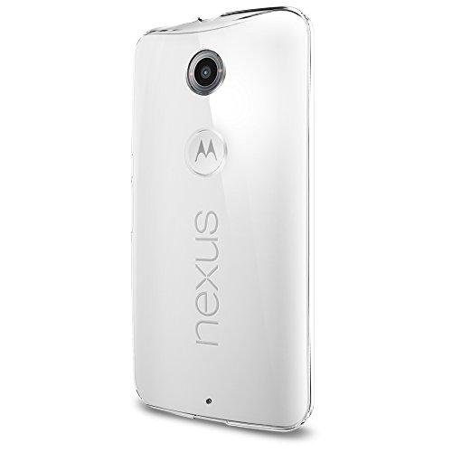 Spigen Thin Fit Nexus 6 Case with Premium Hard Transparent PC for Google Nexus 6 2014 - Crystal Clear