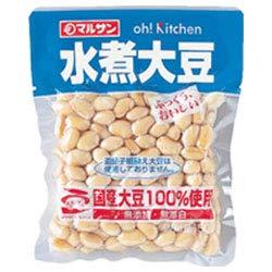 マルサンアイ 国産水煮大豆 150g×20袋入×(2ケース)