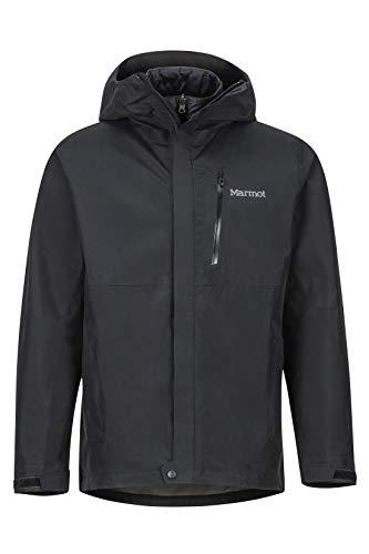 Marmot Minimalist Component Jacket Veste de pluie Hardshell, Imperméable, coupe-vent, imperméable à l'eau, Respirante Homme Black FR: S (Taille Fabricant: S)