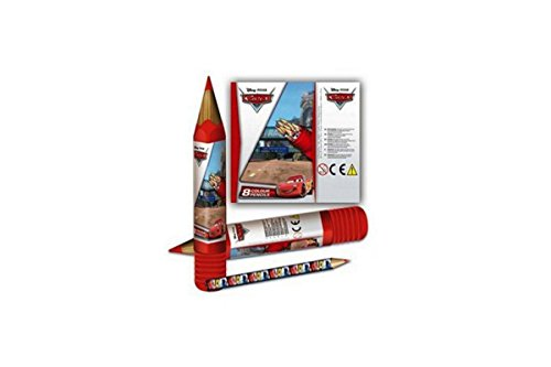 Set plumier crayon de couleurs Cars Disney officiel
