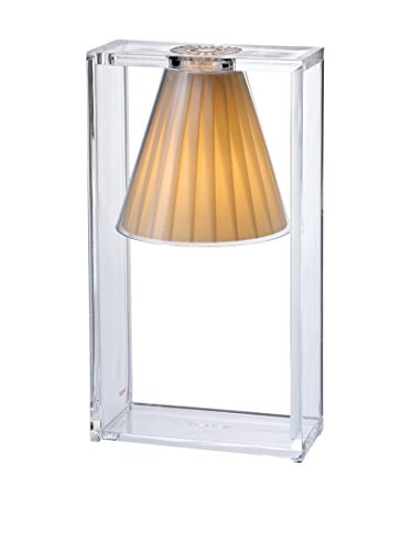 Kartell LIGHT AIR LIGHT AIR Tischleuchte, beige Plissé