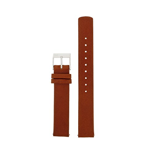 Skagen Reloj Banda Correa Intercambiable LB de skw2464 para Banda skw2464 Reloj de Pulsera Piel 14 mm marrón