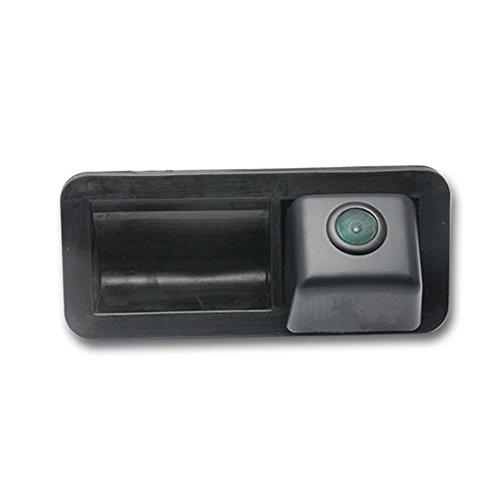 Greatek 170 Grad Weitwinkel Auto Nachtsicht Rückfahrkamera Einparkkamera Einparkhilfe Farbkamera Rückfahrsystem Wasserdicht für Ford Mondeo/Focus Hatchback/ Freelander2/Mondeo MK4/CHIA-X