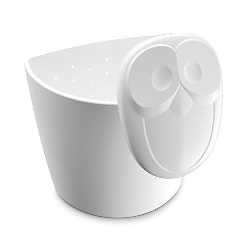 koziol Teesieb Elli, Kunststoff, weiß, 6.3 x 6.6 x 7.8 cm
