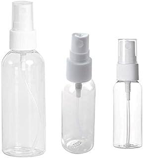 JVSISM 30/50/100Ml Refillable Bottles Travel Transparent Plastic Perfume Bottle Atomizer Empty Small Bottle