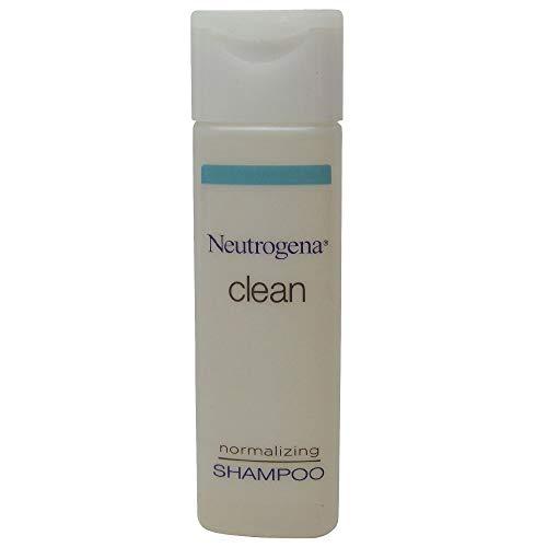 Neutrogena Clean Normalizing Shampoo 0.8 oz Lot of 24 - Total of 19.2oz