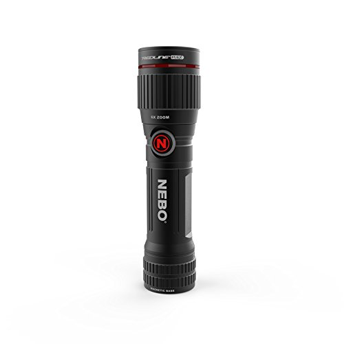 NEBO Redline FLEX 450-Lumen Flashlight - 450 Lumen Turbo mode with flex power option included rechargeable battery or AA battery, includes clip and magnetic base - NEBO 6700