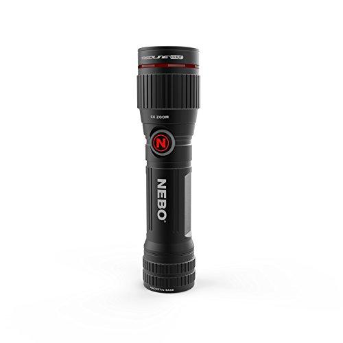 Nebo NB6700 Redline Flex Lampe Torche Rechargeable ou alimentée par Piles Noir 450 lumens