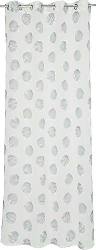 Esprit Home Culo Rideau à œillets, Tissu, Noir, 250 x 140 cm