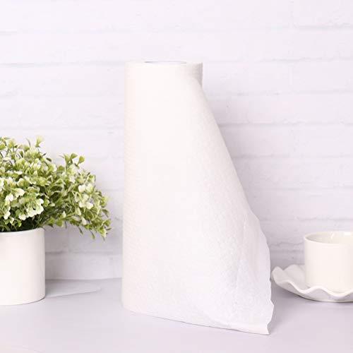 50 toallas de papel de cocina Lazy Rag lavables, lavables, sin pelusas, tela no tejida, paño de limpieza para platos, toallas