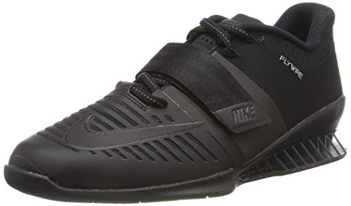 NIKE Romaleos 3 Mens 852933-004, Black/Hyper Crimson, Size 12