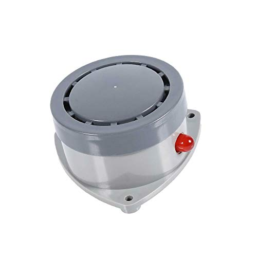 KOOBOOK 1Pcs High Decibel Water Leakage Detector Sensor Household Water Leak Monitor Sound Light Alarm Device Waterproof