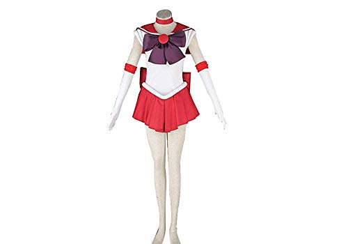 Another Me Anime Sailor Moon Rei Kino Mars Cosplay Costume Female Size X-Large