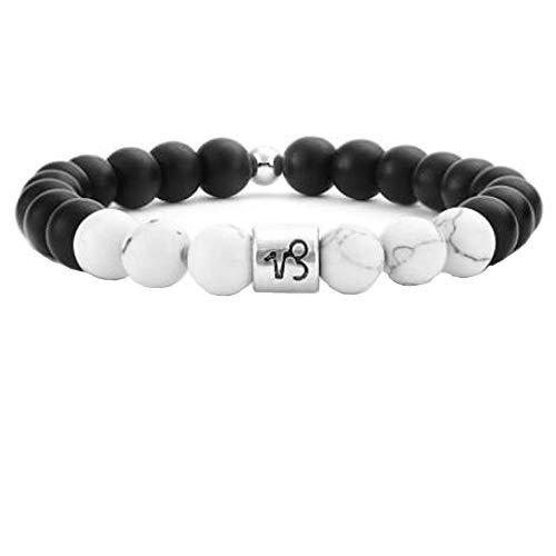 Hombres Mujeres 8Mm Pulsera De Piedra Natural Piscis Elástico Yoga Agate Beads Bracelet