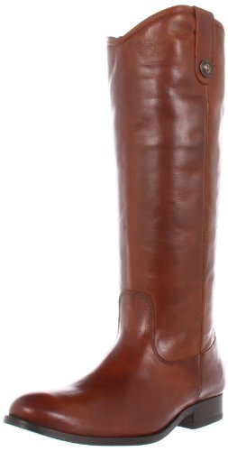 Frye Melissa Button 77167, Damen Reiterstiefel / Stiefel, cognac, 41 EU / 8 UK/10 US